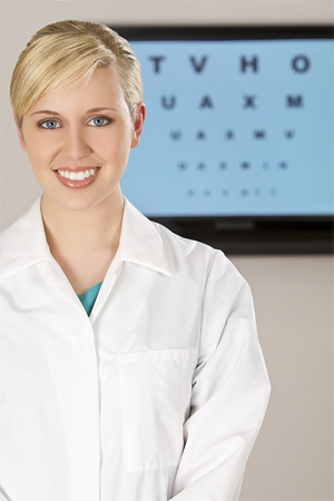 eye doctor ophthalmologist